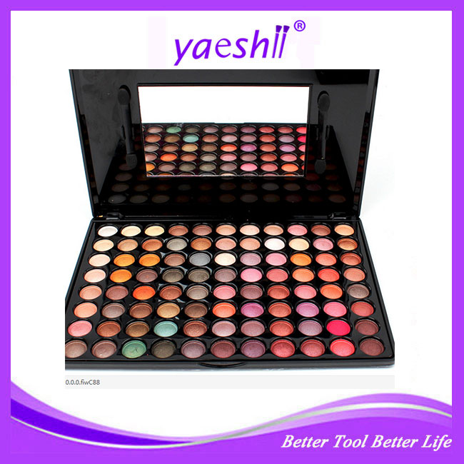 Yaeshii HOT Color 88 Color Shimmer Eyeshadow Palette - Long Lasting Makeup Eye Shadow New Arrival