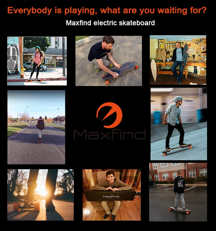 US/AU/PL/UK/DE/BE warehouse shipment electric skateboard from Maxfind