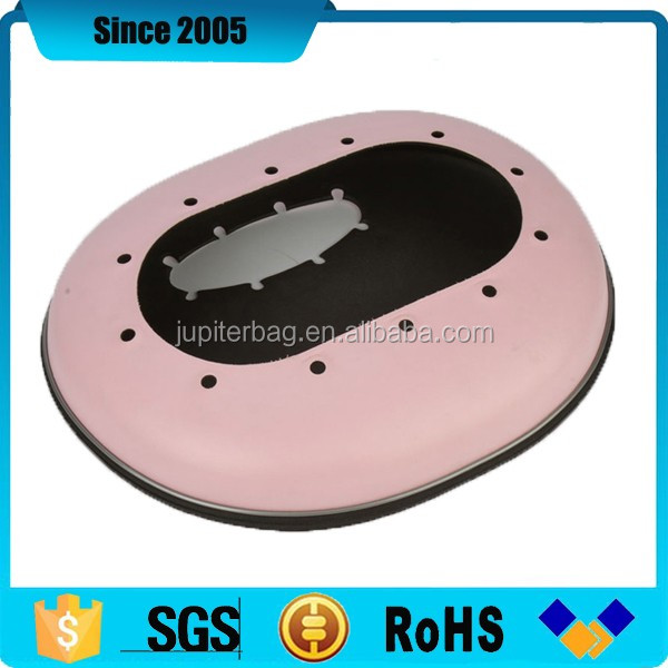 pink mini portable eva speaker leather box case