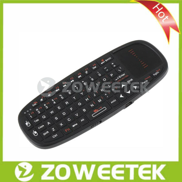 2013 Hottest 2.4g Wireless Dell Inspiration Mini Keyboard with Touchpad