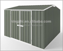 Prefabricated Gardening Shed / 12x10ft Metal Shed with side hung door