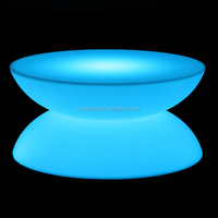 SX-8045-CTB 2016 New Design 16 Colors LED Coffee Table LED Coffee Table LED Cocktail Table
