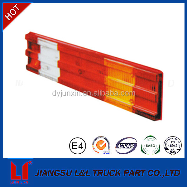 good performance truck rear led tail lamp lens for benz actros mp1