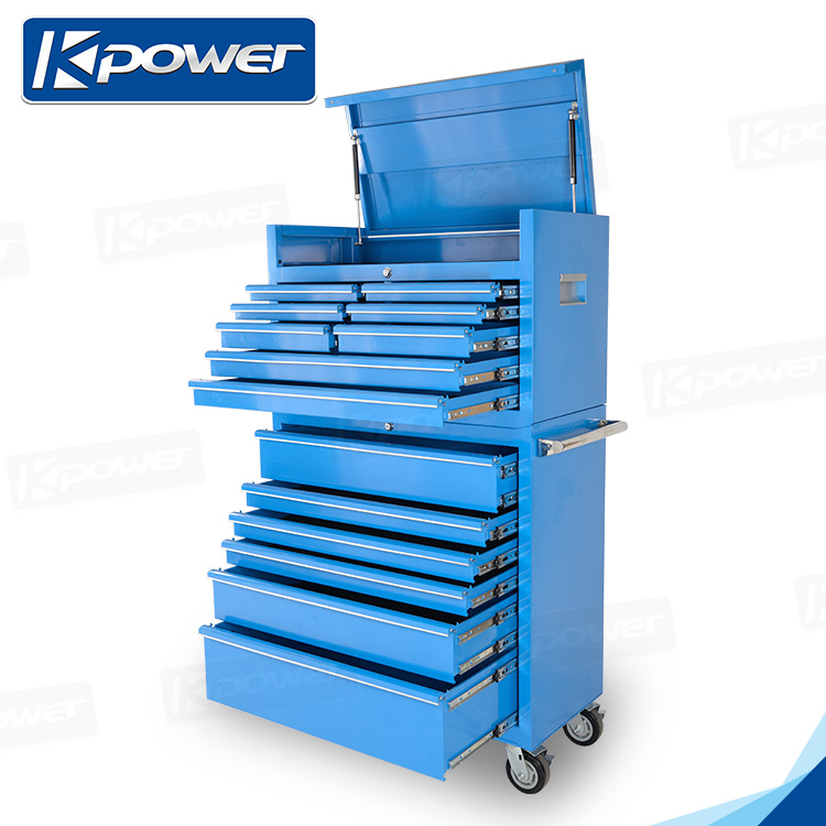 High-Grade 37 Inch 8 Drawers Durable Side Cabinet Tool Box
