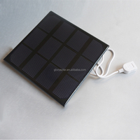 China Factory Customized 3 Watt 3V Solar Panel Small Solar Panel For Led Light,Power Supply,Battery,Fountain