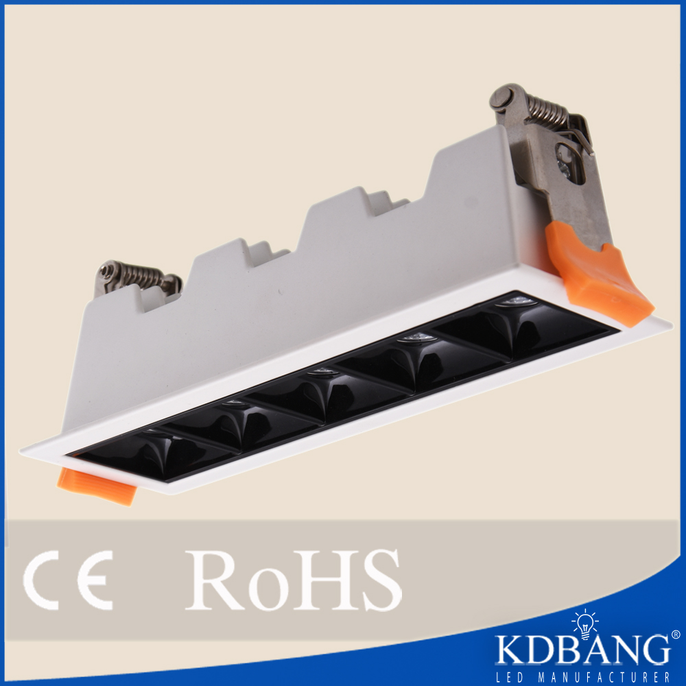 Recessed COB ceiling light LED downlight manufacture