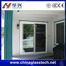 CCC certification decorative tempered glass sliding door company prices