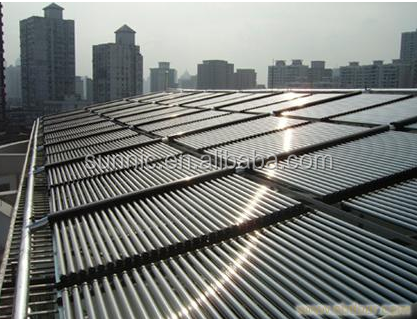 Industry project use Heat Pipe Solar Collectors