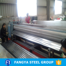 Stock ! color steel corrugated fencel galvanized roofing sheet hs code