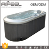 2017 new hot sale two persons seating hydro massage mini small hot tub