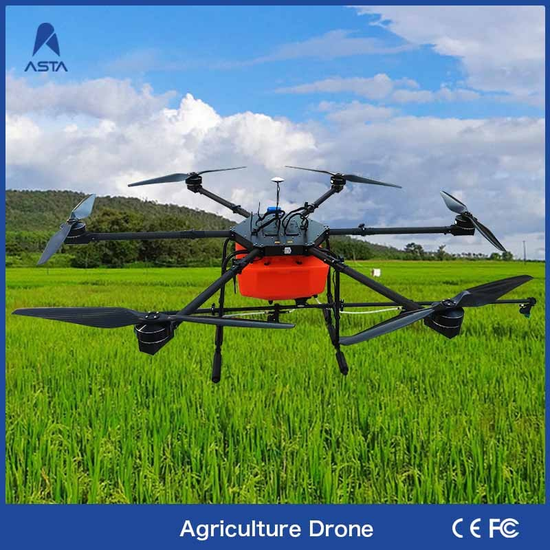 China Supplier Fully Autonomous 10L Drone Agriculture Pesticide Sprayer For Farm Orchard