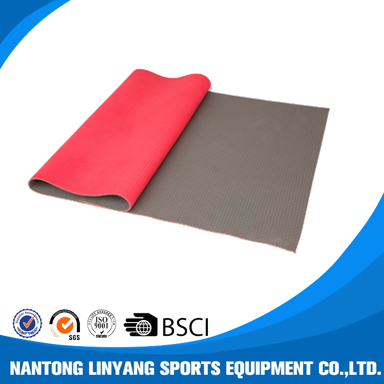 Factory hot selling blank tpe yoga mat for sublimation