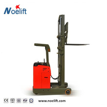 Noelift brand 2200 lb.,104 in. lift Rider reach truck lifter for medium loads