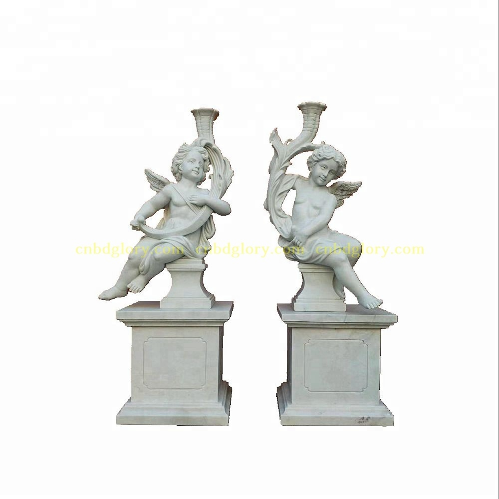 Garden Home Decor Marble Small Angel Statue With Wings Buy Large