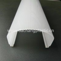 Opal polycarbonate extrusion led profile