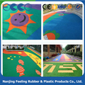wet pour epdm rubber playground surfacing FN-J-17101703
