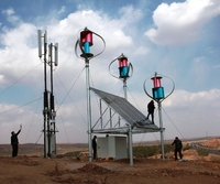 Off grid Magnetic Wind Turbine Solar Wind Power for Telecoms Station