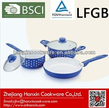 3d item kitchen frypan silk screen painting cookware set