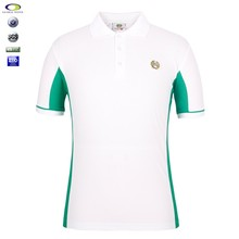 Fashion and polychrome polo shirt for men in factory