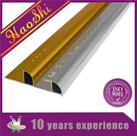 silver aluminum powder coating tile trim bathroom tile design