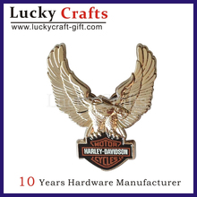 high quality silver plated eagle emblem for horde