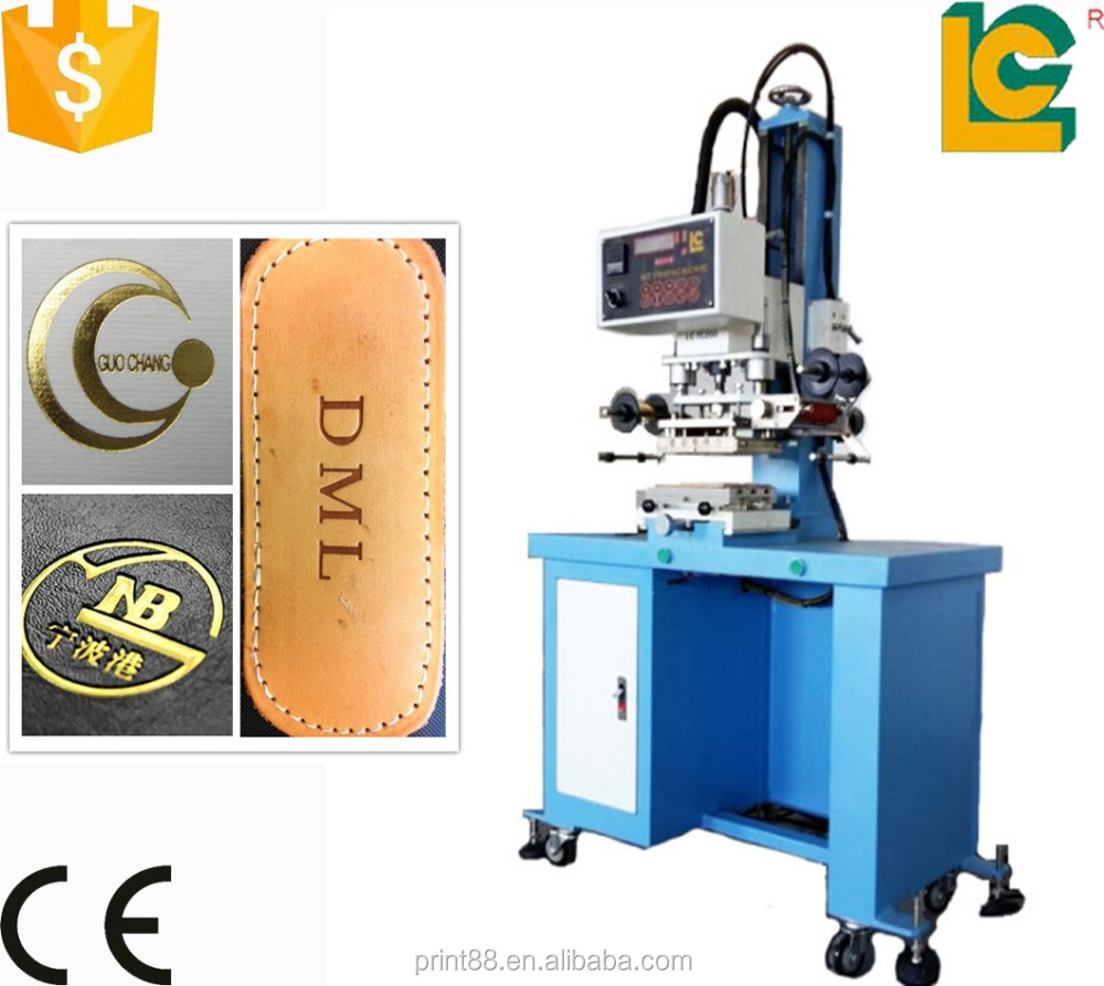 Alibaba dongguan gold foil embossing machine wood hot stamping machine LC-TC200