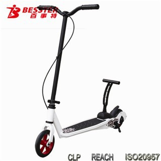 BEST JS-008 best KICK N GO fold and go pink motor and folding adult scooter for adults outdoor sport