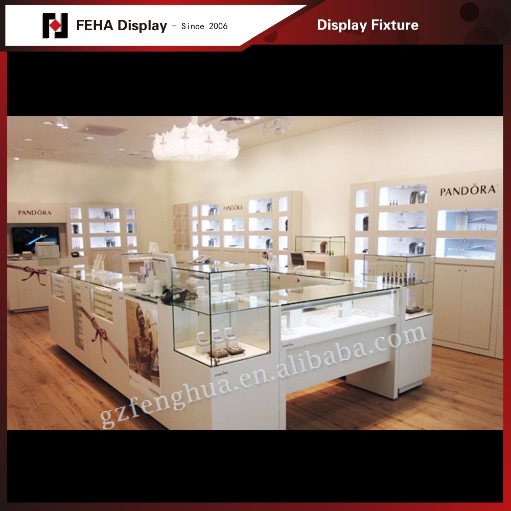 Fctory wholesale jewelry display cabinet and jewelry display showcase for sale