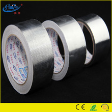 Alu tape aluminum foil tape of Pure Aluminum Foil Backing HVAC/R Adhesive reinforced Tapes