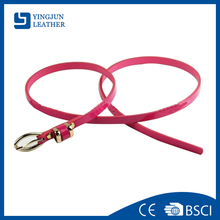 Fashion pu belt chastity girl shinny belt YJ-BZ0394
