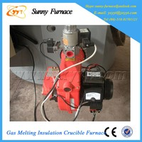 home appliance melting gas graphite crucible gold melting furnace