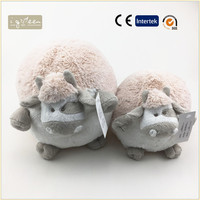 20cm ball shaped cow plush doll