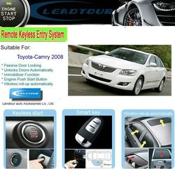 Auto RFID Engine Start Passive Keyless Entry System with Easy Car Alarm System for Toyota Camry 2008