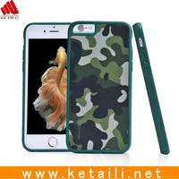 Camouflage Pattern TPU Mobile Phone Cover, For TPU Cloth Iphone 6 Cover