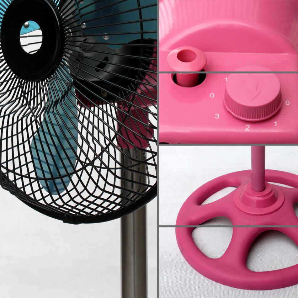 plastic cooling fan for electric motor