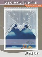 polyester lace curtain/window decoration