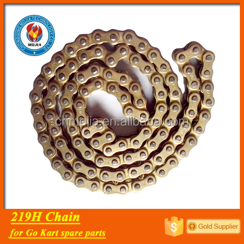 factory price 219h chain go kart spare parts