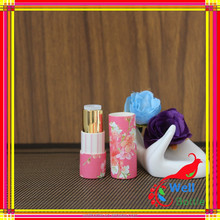 Pape tube with custom printed with metal core for paper tube for paper lipstick tube