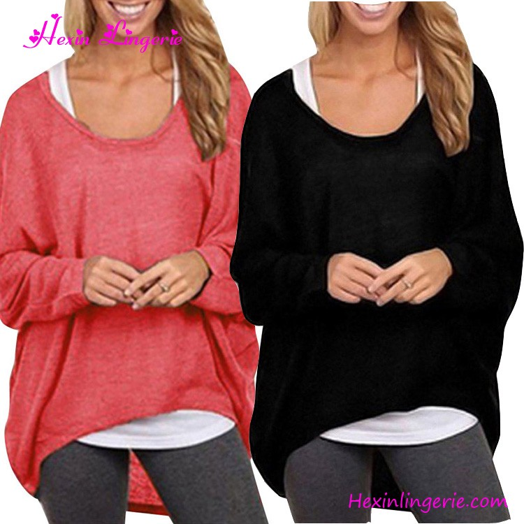 Latest Fashion Blouse Long Sleeves Woolen Sweater Designs For Ladies