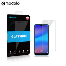 Mocolo Wholesale Full Cover 3D 9H New Arrive Clear Tempered Glass Screen Protector For Huawei P20 Lite