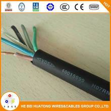 Rubber Jacket and low Voltage Type electric cable YZ 70mm2
