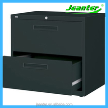 black lacquer china drawer /hanging steel desktop filing drawers