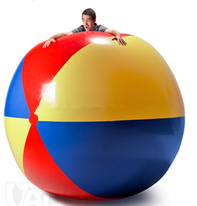 Wholesale factory price Inflatable big beach <strong>ball</strong>