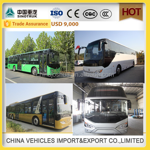 CHINA SINOTRUCK HOWO high quality passenger 60 seater used bus china surpplier bus for sale malaysia