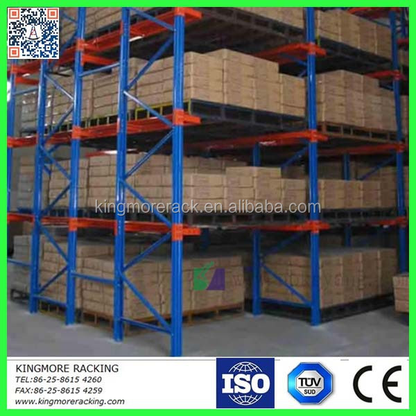 Warehouse storage high goods metal shelving drive In Pallet Rack system