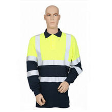 Customize Hoertai Fire Retardant Antistatic Hivis Polo Shirt