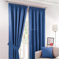 Natural Solar Blackout Eyelet Curtains