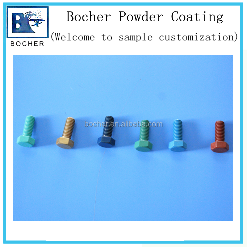 factory price high temperature epoxy powder coating for nail