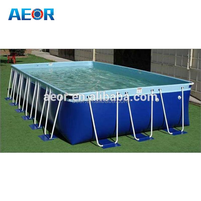2016 New design wholesale swimming pools for above ground/portable frame swimming pools for family