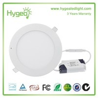 160*20mm Round led panel light 12W ultra thin led panel light surfacemounted